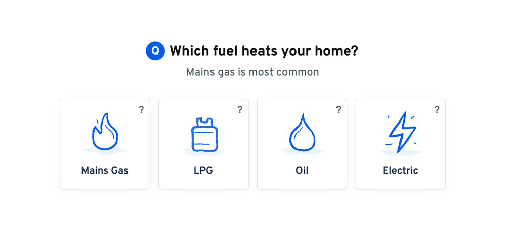 What fuel your boiler uses